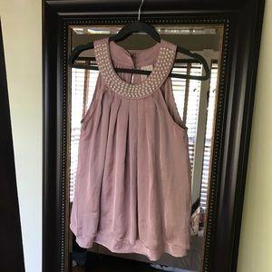 💥$1 when bundled💥 Medium pink blouse
